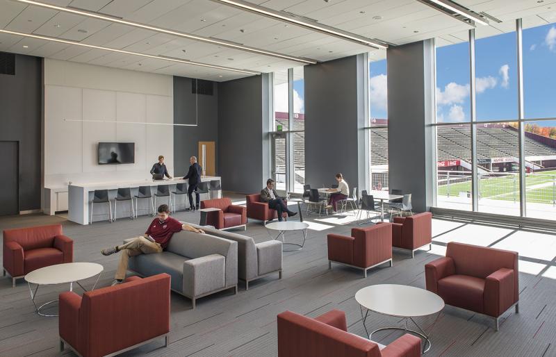 Football Performance Center Facilities Campus Services Umass Amherst