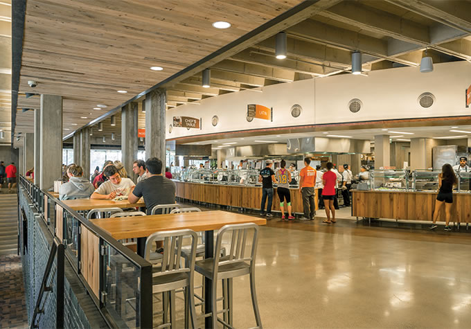 Hampshire Dining Commons Renovation Facilities Amp Campus