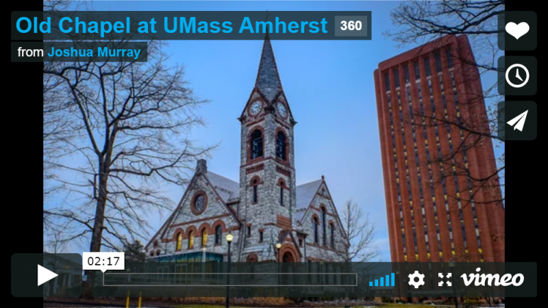 Old Chapel at UMass Amherst - 360 Tour
