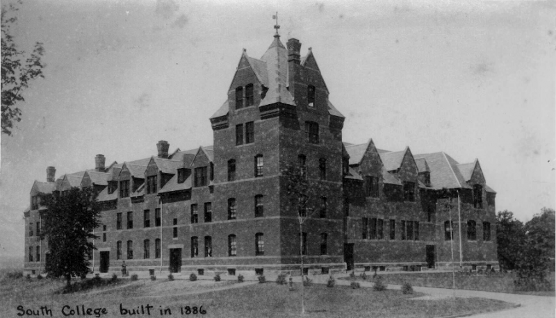 South College, late 19th century