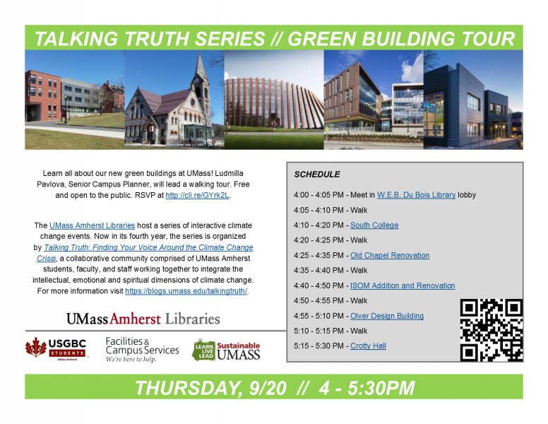 Talking Truth Series - Green Building Tour