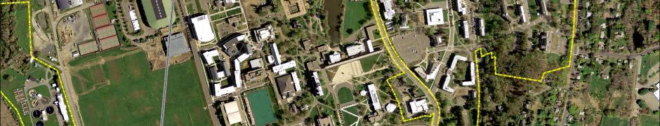 Aerial snapshot of campus