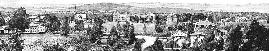 A HISTORY OF CAMPUS DEVELOPMENT
