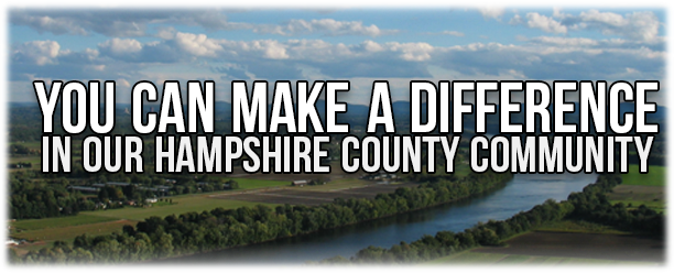 You Can make a Difference in our Hampshire County Community