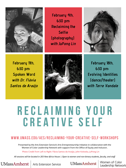 WOCLN Reclaiming your creative self poster