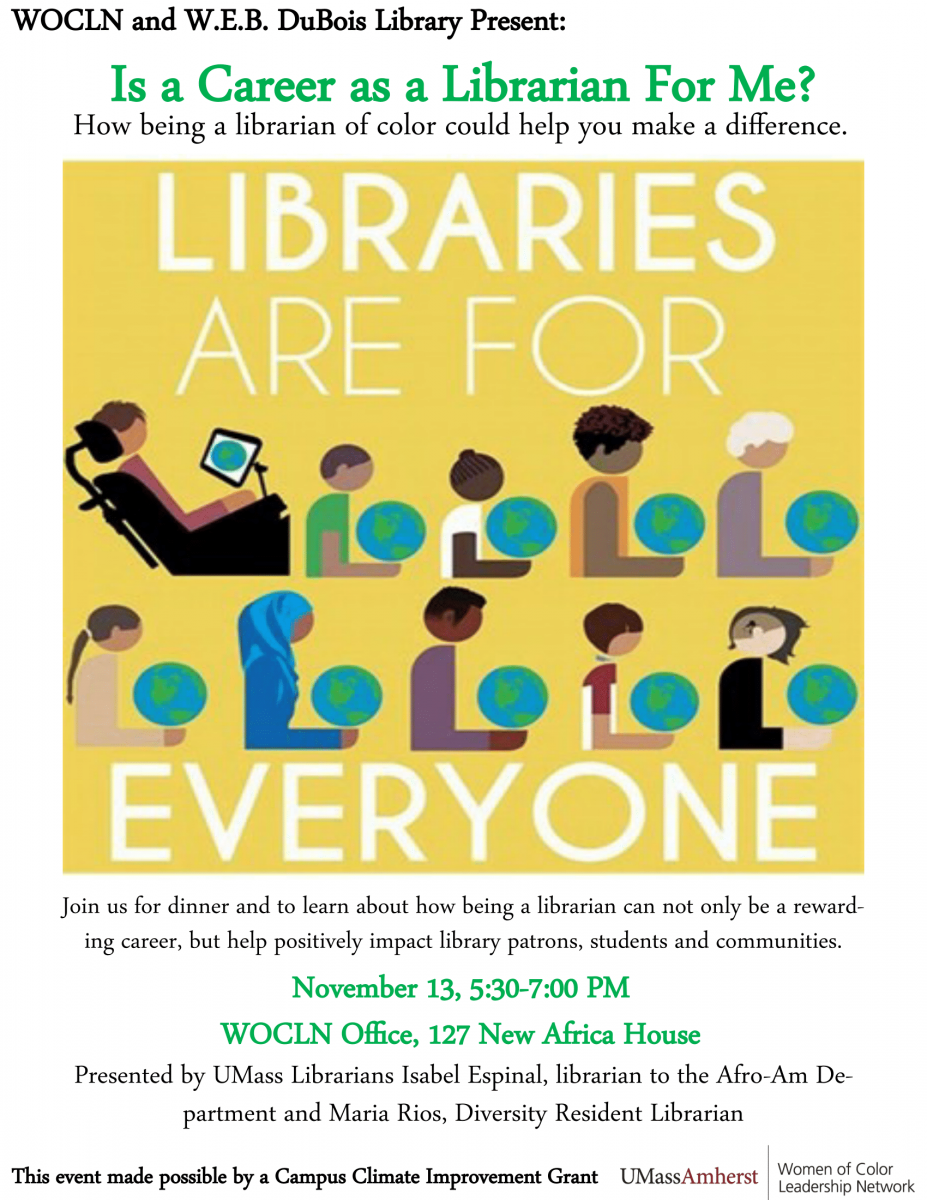 Library Info Session poster