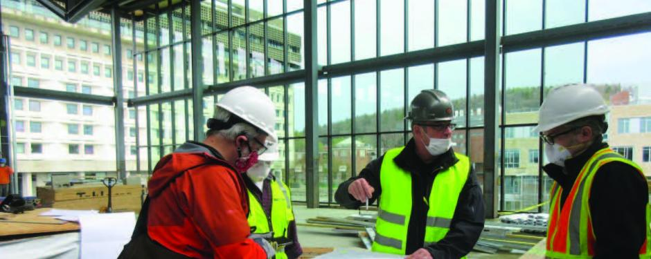 Student Union Interior Construction