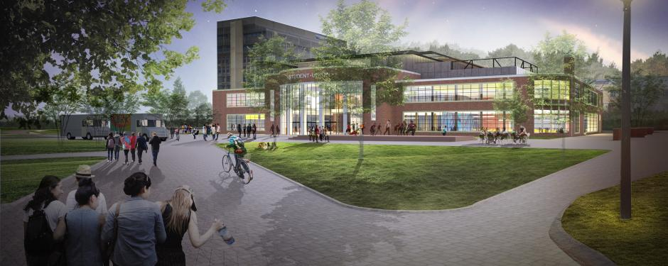 Student Union Rendering