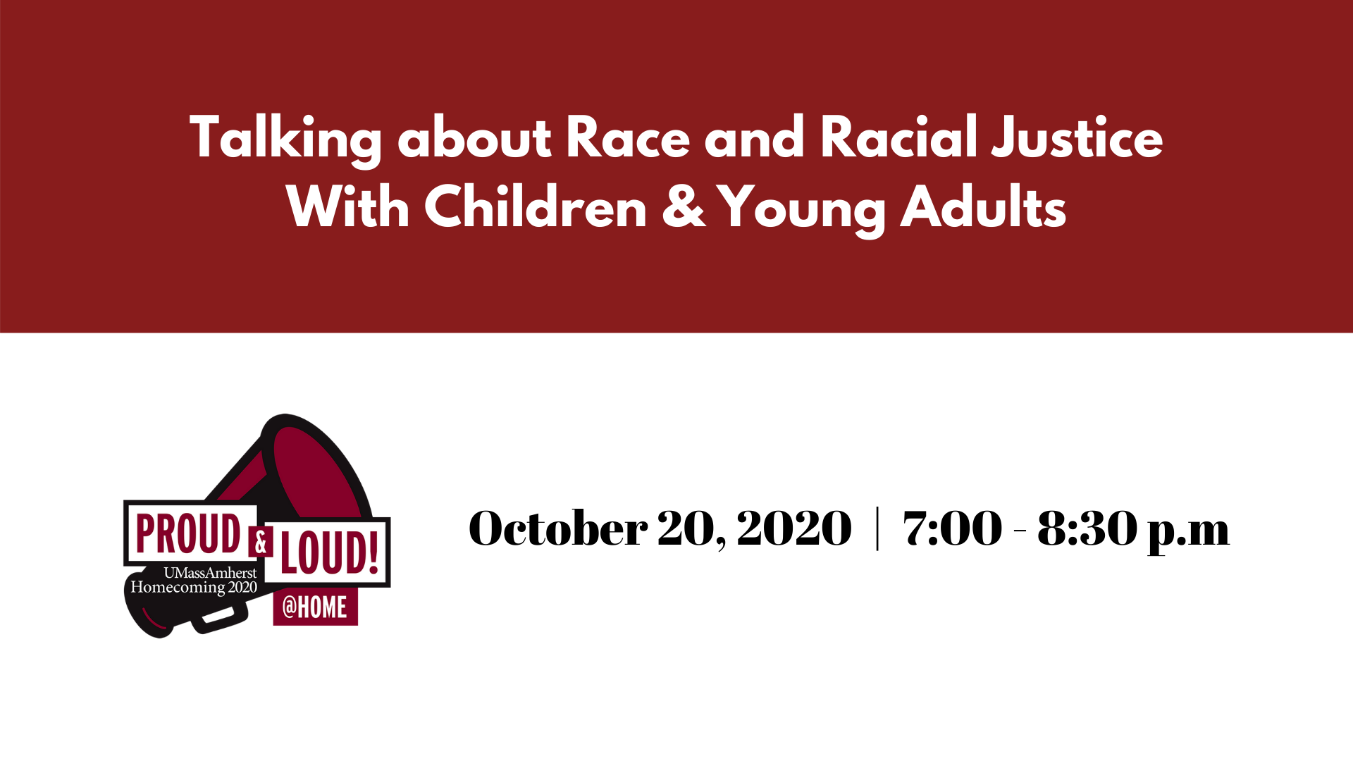 Talking About Race and Racial Justice With Children and Young Adults