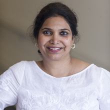 headshot of Sangeeta Kamat