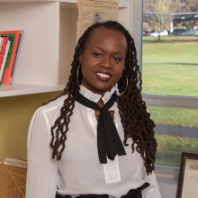 Assistant Professor of Social Justice Education Jamila Lyiscott
