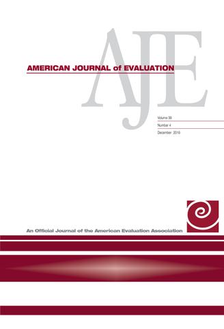 American Journal of Evaluation Cover