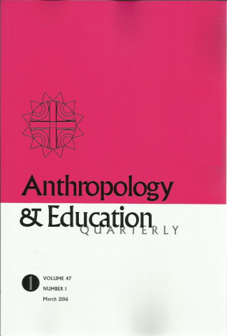 Anthropology & Education Quarterly Cover