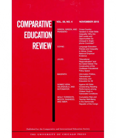 Comparative Education Review Cover