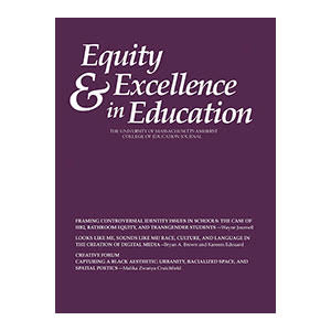 Equity & Excellence in Education Cover