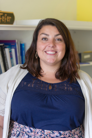 Assistant Professor Sarah Fefer, who has helped Upward Bound implement a positive behavioral support program.