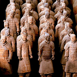 Chinese clay soldiers