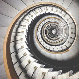 spiral staircase=