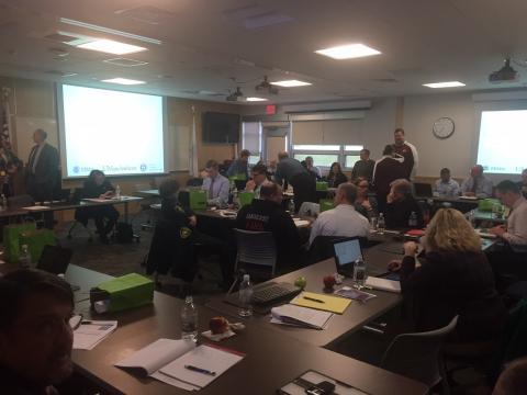 EOC Team participates in DHS training
