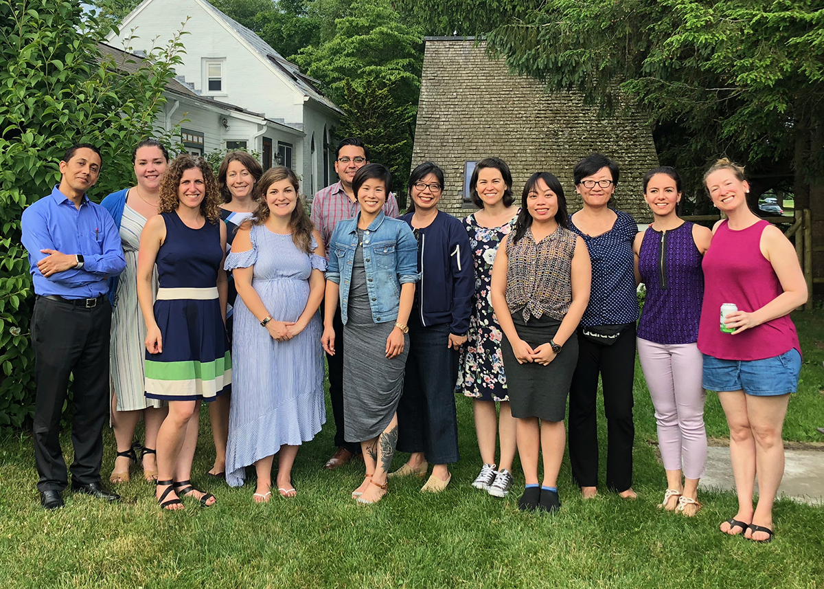 Group photo of 2018 Elbow symposium scholars