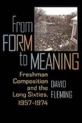 From Form to Meaning by David Fleming