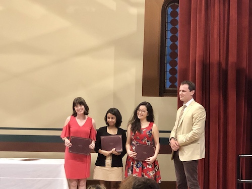 MA/PhD English Department Award Recipients