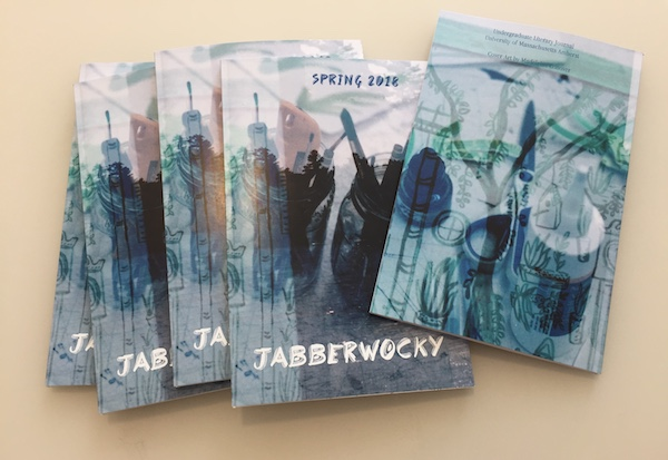 Copies of the 2018 issue of Jabberwocky