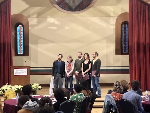 MFA English Department Award Recipients