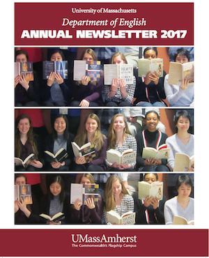 Image of the 2017-2018 English Dept Newsletter