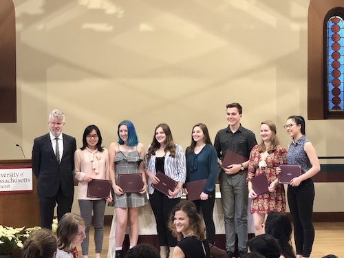 Undergraduate English Department Award Recipients