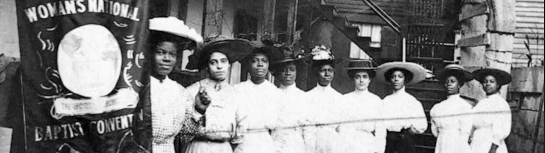 Black women at the Baptist convention