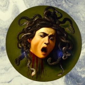 Caravaggio's painting of Medusa