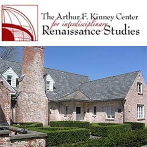logo for Arthur F Kinney Center for Interdisciplinary Renaissance Studies