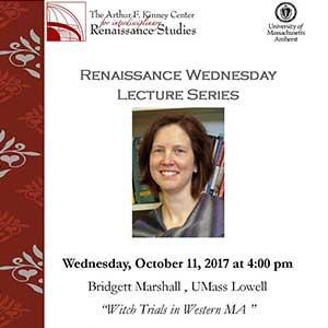 Flyer of Bridgett Marshall lecture