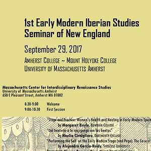 Flyer from First Early Iberian Studies Seminar in New England