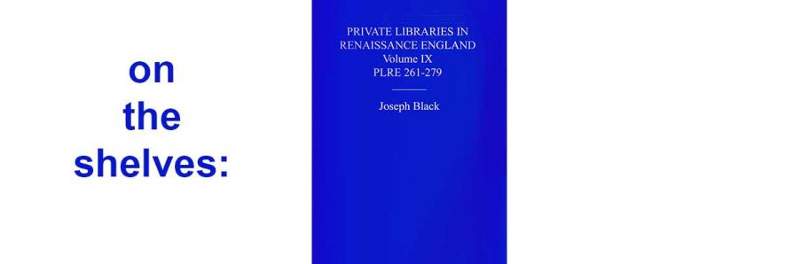 "image of book jacket, ""Private Lives in Renaissance England"""