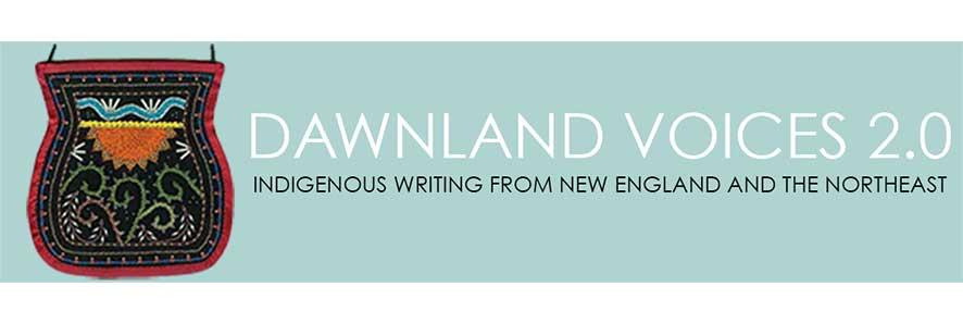 masthead for Dawnland Voices 2.0 website