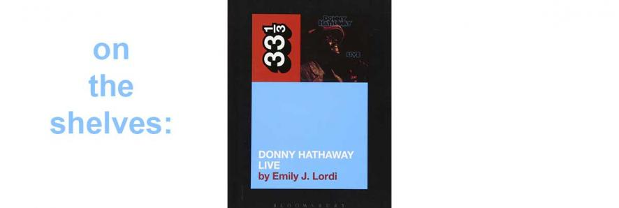 """image of book jacket, """"Donnie Hathaway Live"""""""