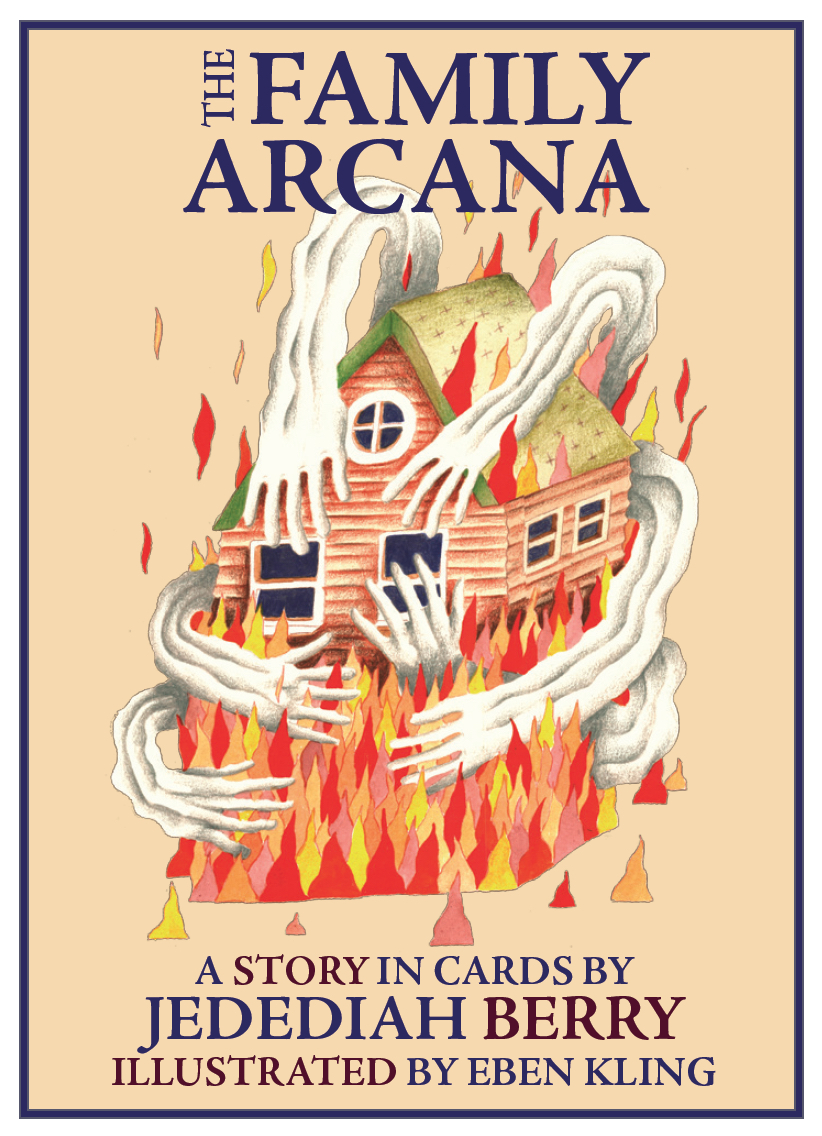 Book cover: The Family Arcana