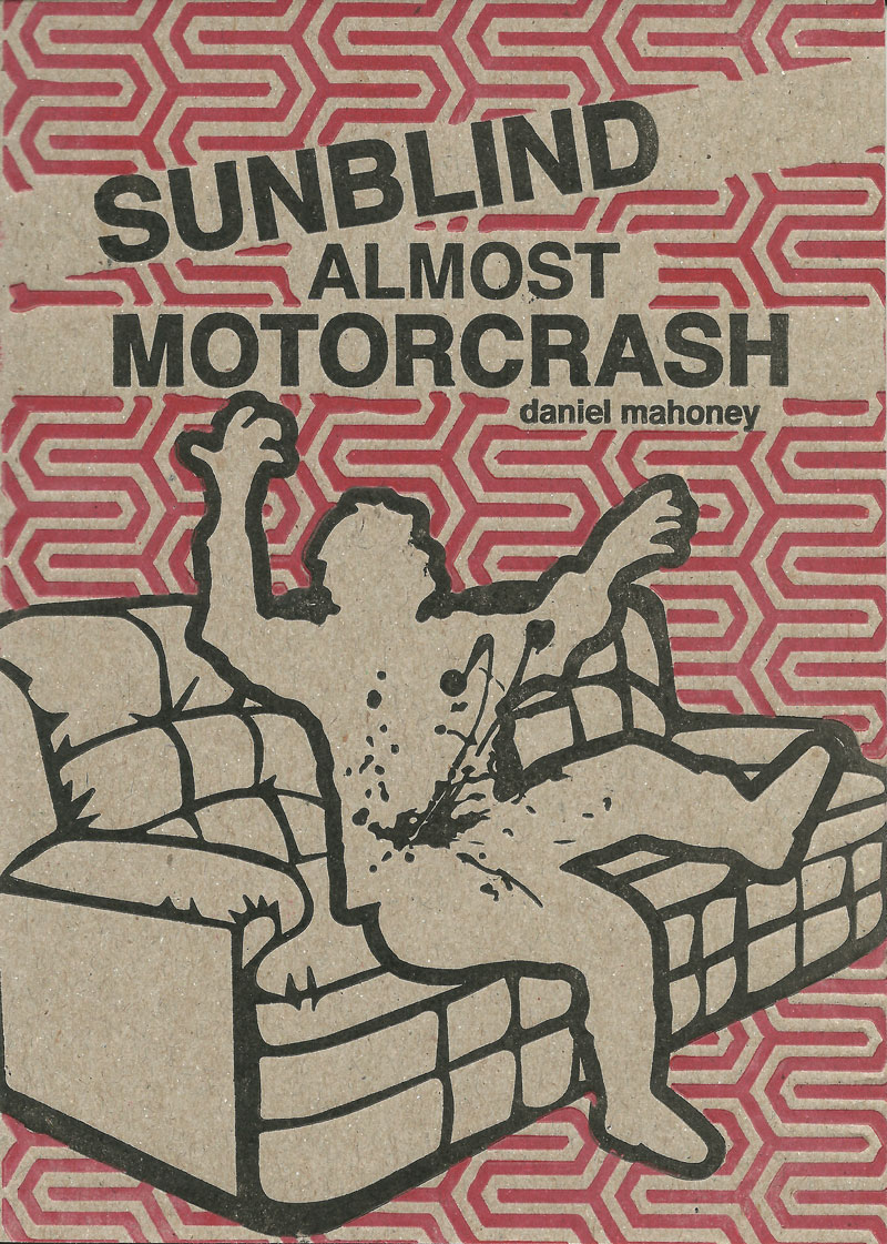Book cover: Sunblind Almost Motorcrash