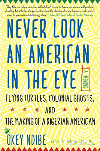 Cover: never look an american in the eye