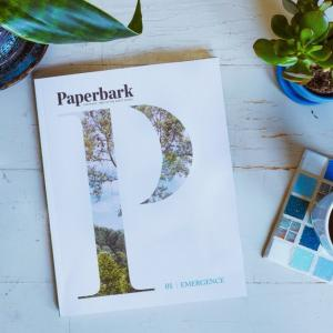 Paperbark journal cover