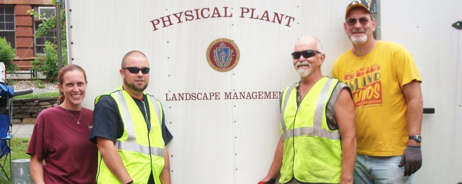 Physical Plant Landscape Management crew