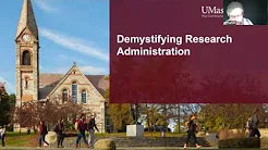 Demystifying Research Administration