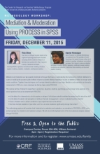 Mediation and Moderation Using PROCESS in SPSS   Center for