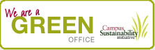 Wea are a Green Office