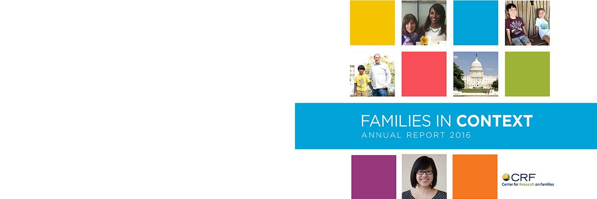 Families in Context: Annual Report 2016