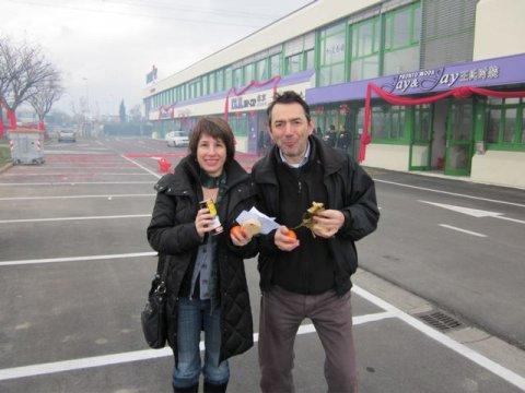 Elizabeth Krause in China