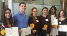 Center for Research on Families student awardees