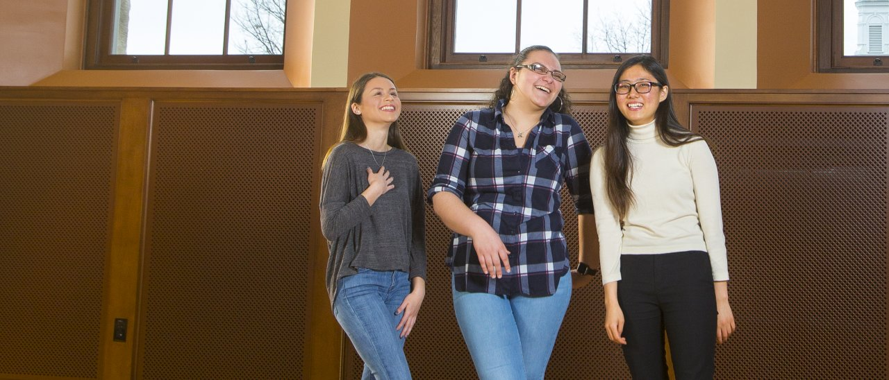 The Spring 2017 issue of Aspire tells the stories of first generation students at UMass Amherst.